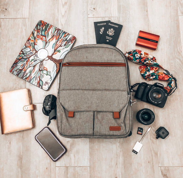 Road Trip of Endurax Compact Camera Shoulder & Backpack