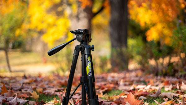 Why Endurax 66'' tripod are more stable when taking photos?