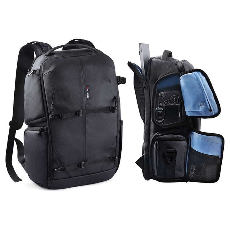 Endurax Professional Camera Backpack with Shoulder Bags for DSLRand and Drone