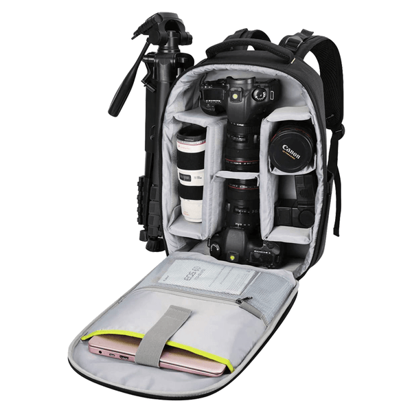 Endurax DSLR Camera Backpack Waterproof for Travel with 3D-Hard case
