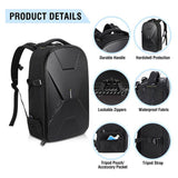 Endurax DSLR Camera Backpack Waterproof for Travel with 3D-Protective Design - Enduraxphoto Camera bag backpack