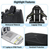 Endurax Small Waterproof DSLR Camera Backpack with Hardshell - Enduraxphoto Camera bag backpack