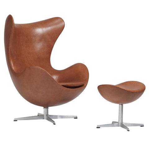 Arne Jacobsen Egg Chair and Ottoman The Exchange Int