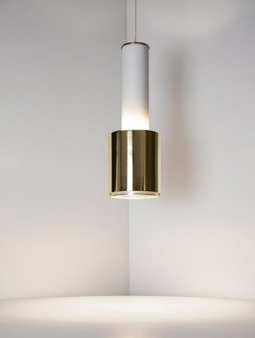 Early Alvar Aalto Pendant Light, Model A110, 1950s - The Exchange Int