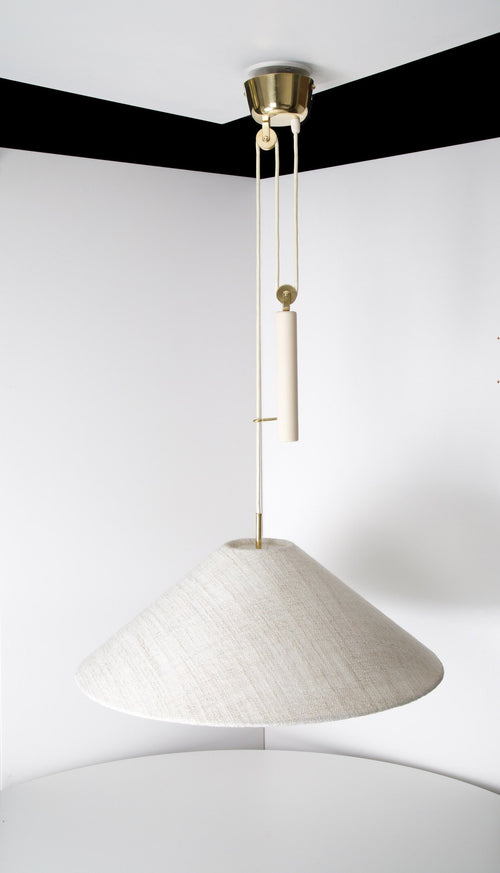 Paavo Tynell Pair of Counter Balance Lamps, Model A 1998, Taito Oy, 1940s - The Exchange Int