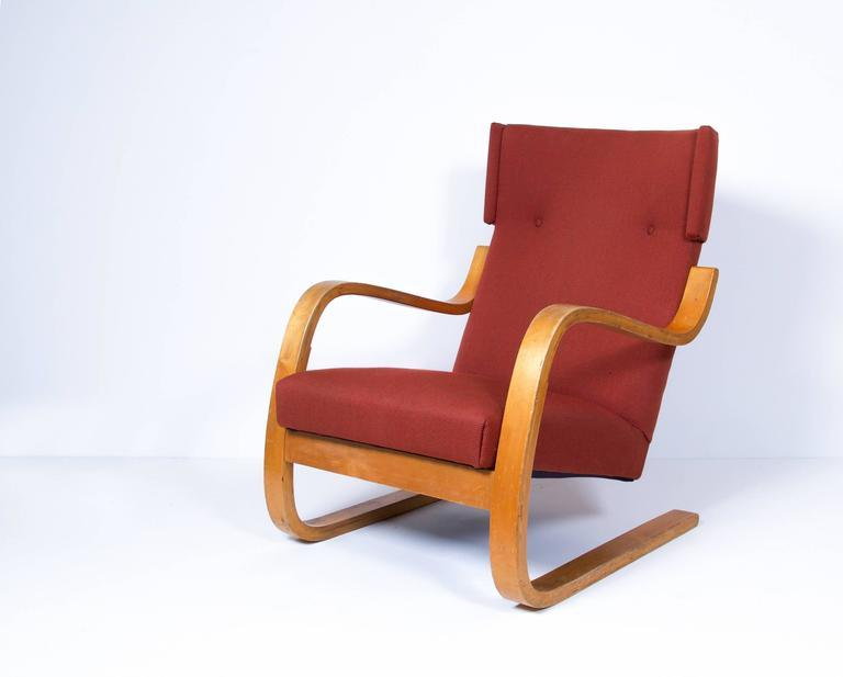 [SOLD] Early Alvar Aalto Cantilevered Armchair, Model 36/86, circa 1930s
