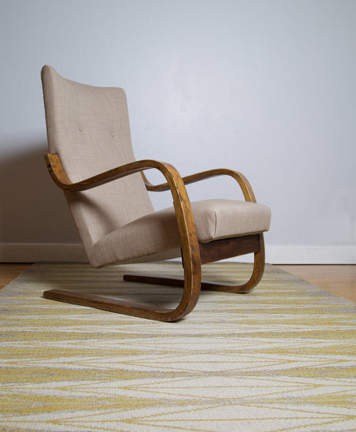 1930s Alvar Aalto High-Backed Chair, Finland - The Exchange Int