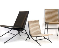 Allan Gould String Lounge Chair & Ottoman, circa 1952 - The Exchange Int