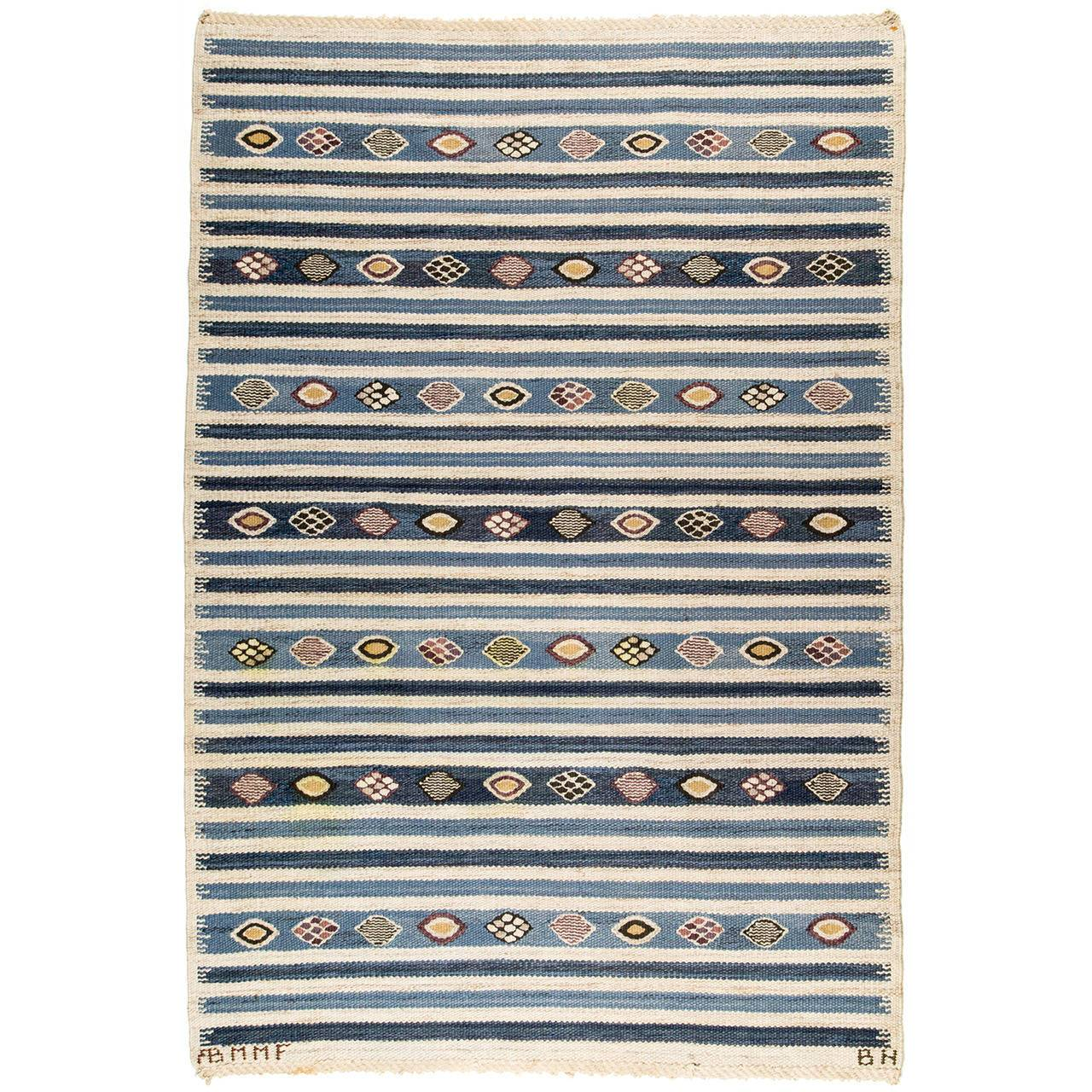 [SOLD] Barbro Nilsson for Märta Måås-Fjetterström AB Carpet, 1940s - The Exchange Int