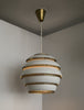 "[SOLD] Early Alvar Aalto, Ceiling Lamp Model A331, Also Known as ""Beehive"", 1950s - The Exchange Int"