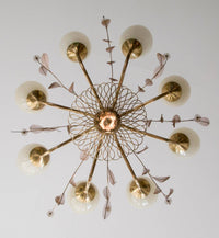 Paavo Tynell Large Chandelier, Model 9029/8 by Oy Taito Ab - The Exchange Int