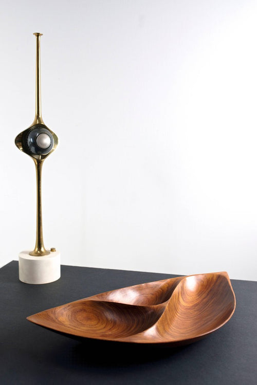 Angelo Lelli Cobra Lamp for Arredoluce, 1964 - The Exchange Int