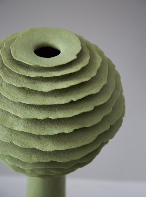 "Sandra Davolio 35"" Stoneware Vessel, 2010 - The Exchange Int"
