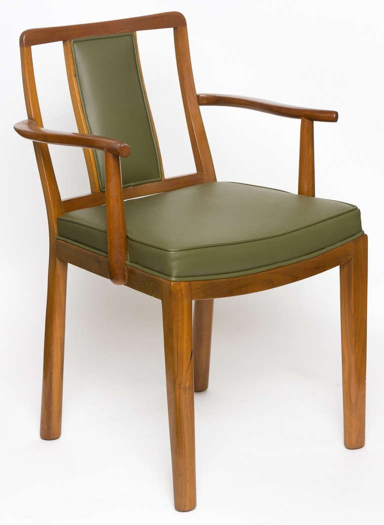 Dining Chairs by Edward Wormley for Dunbar, Set of Six,