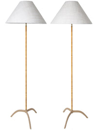 Pair of Paavo Tynell Lamps, Model 9615, 1940s - The Exchange Int