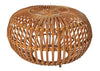 Franco Albini Woven Rattan Ottoman Early Example - The Space Detroit