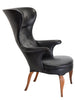 Original Frits Henningsen Wingback Armchair The Space Detroit