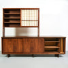 Early George Nakashima Cabinet, Rare Wood Selection, 1958 - The Exchange Int