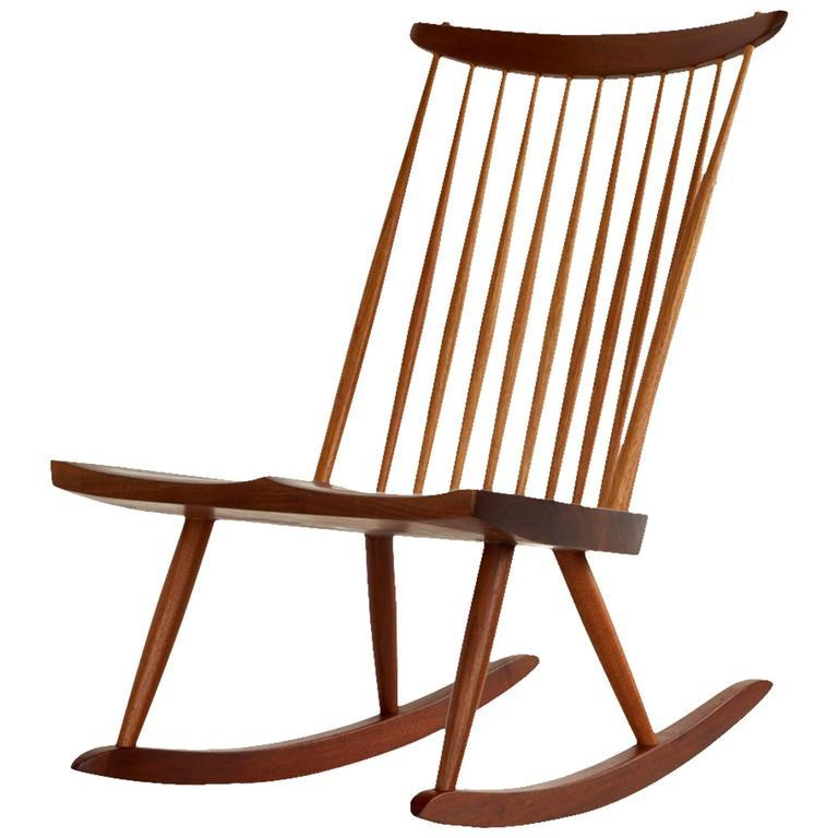 George Nakashima Rocker, 1960 - The Exchange Int