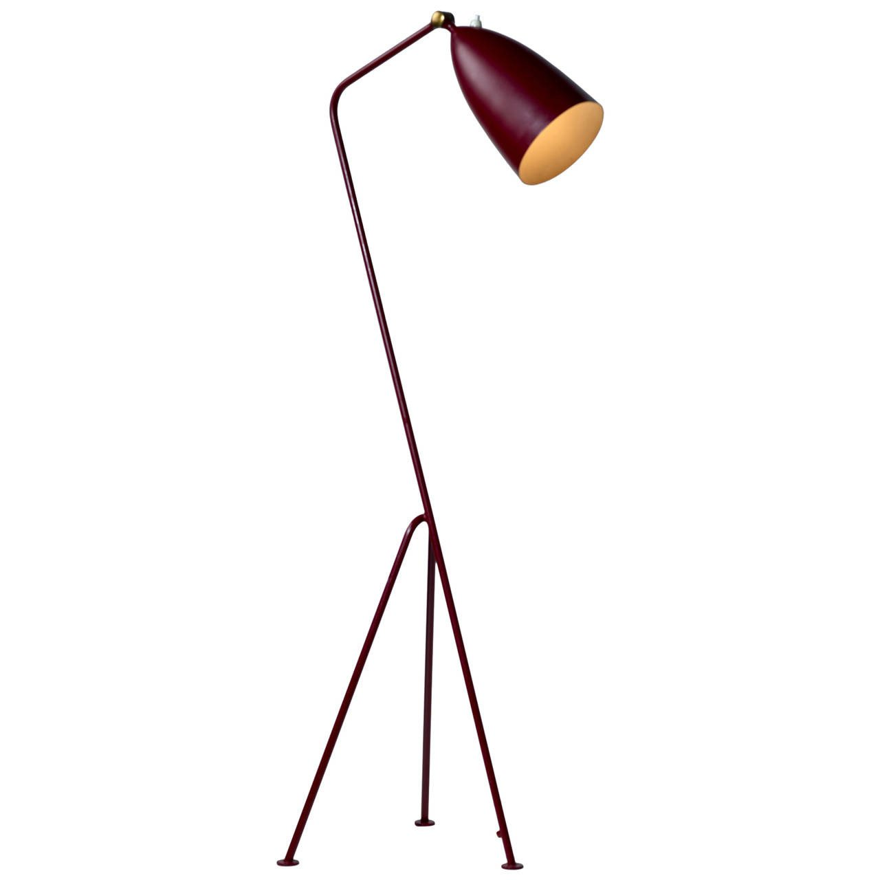 "[SOLD] Early Greta Magnusson-Grossman ""Grasshopper"" Floor Lamp, by Bergboms Malmö, Model 831 - The Exchange Int"