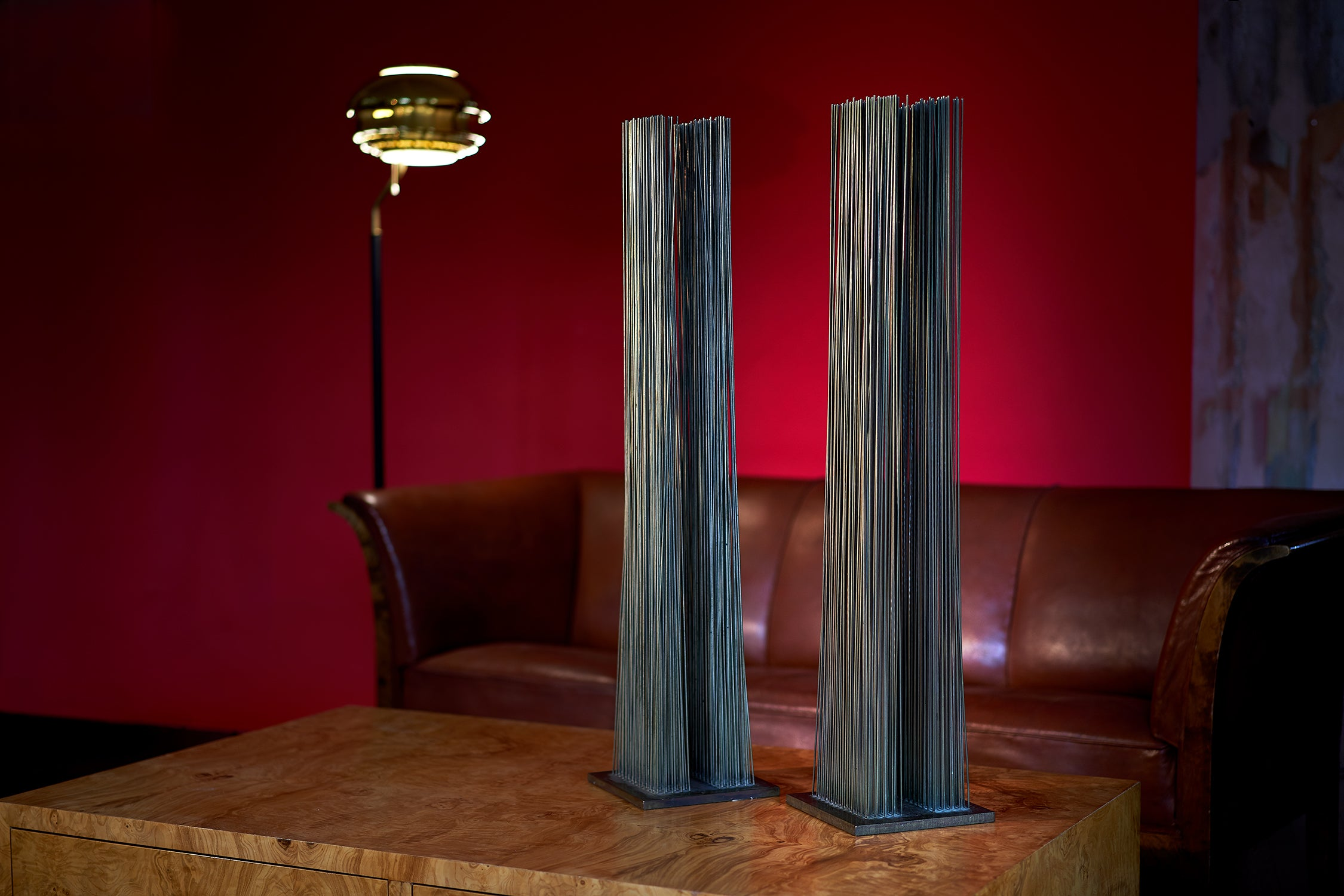 Harry Bertoia Pair of Tonal Sounding Sculptures circa 1970s