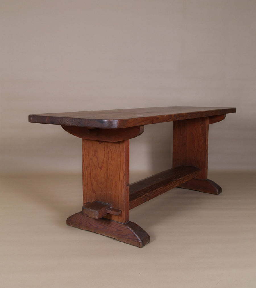 """Skoga"" Dining Table by Axel Einar Hjorth, Nordiska Kompaniet Ab, 1930s"