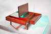 John Keal for Brown Saltman Coffee Table with Interior Storage circa 1950s - The Space Detroit