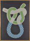 Laurence Barker 'Checkered Halter Tie' Framed Artist Proof - The Exchange Int