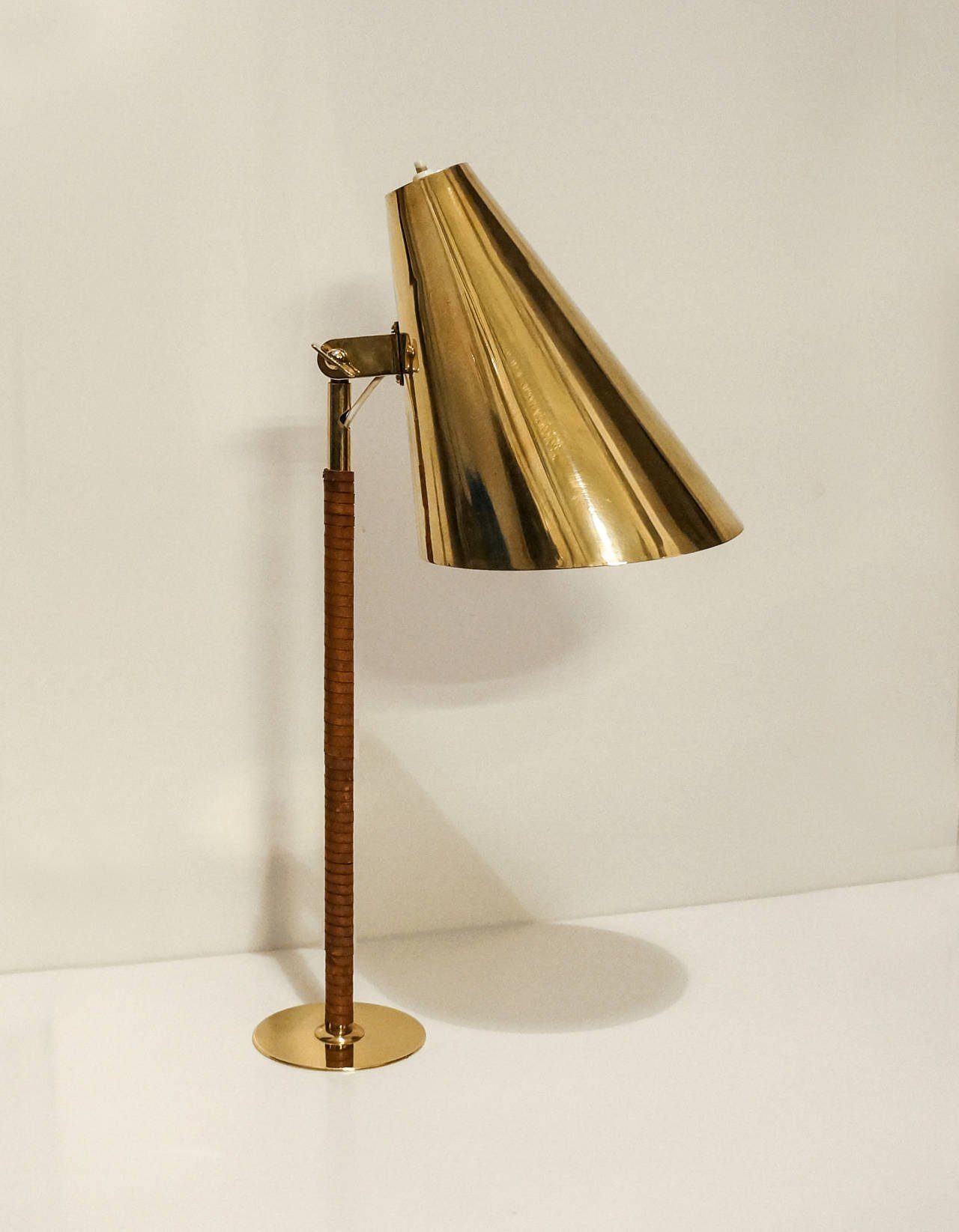 Paavo Tynell Rare Cafe Table Lamp circa Early 1950s