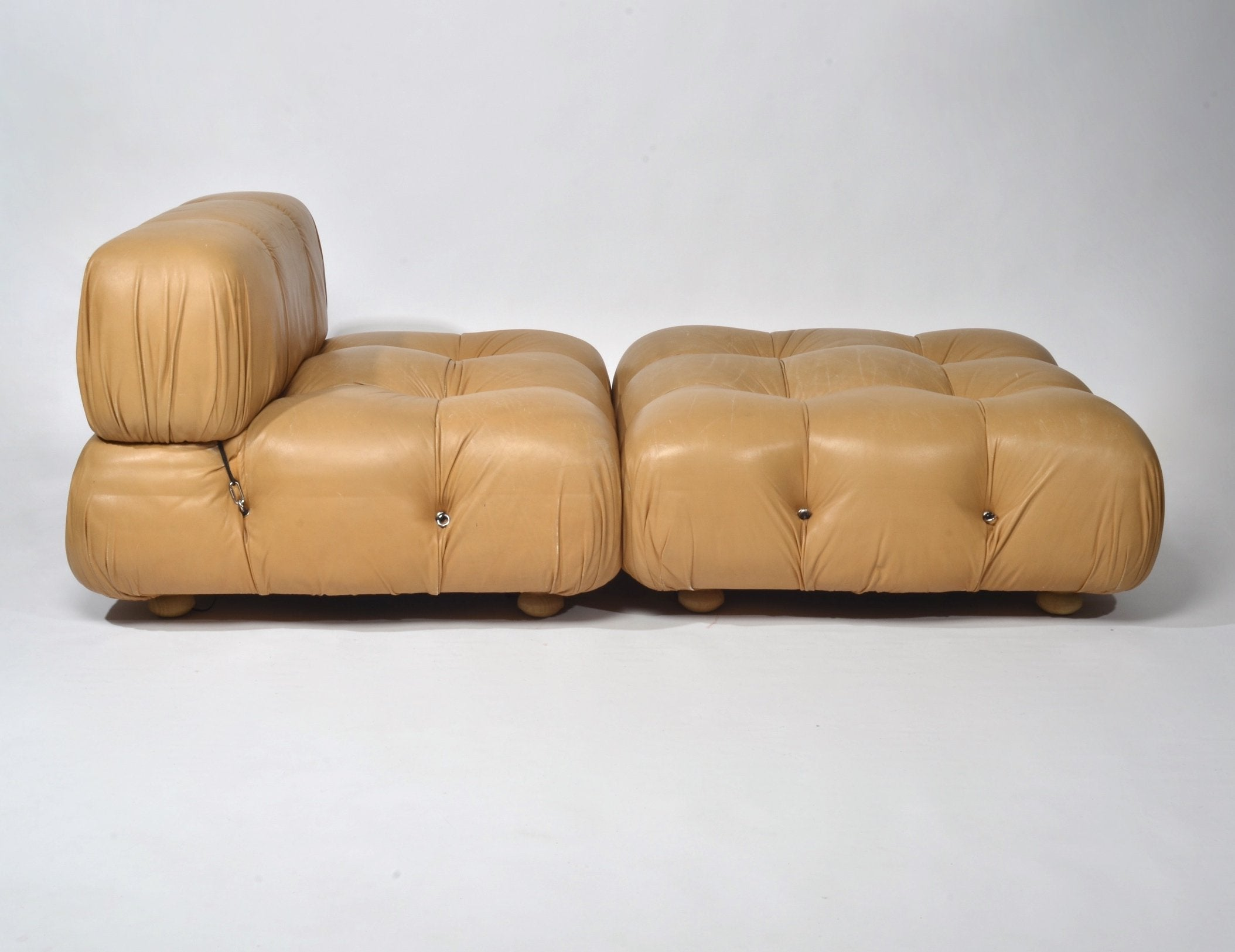 Mario Bellini 'Camaleonda' Lounge Chair and Ottoman, 1973