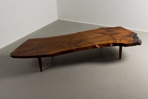 George Nakashima Walnut Coffee Table, 1960s - The Exchange Int
