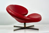 "Swivel Chair ""Nuage"" by Robert Tapinassi with Maurizio Manzoni for Roche Bobois - The Space Detroit"