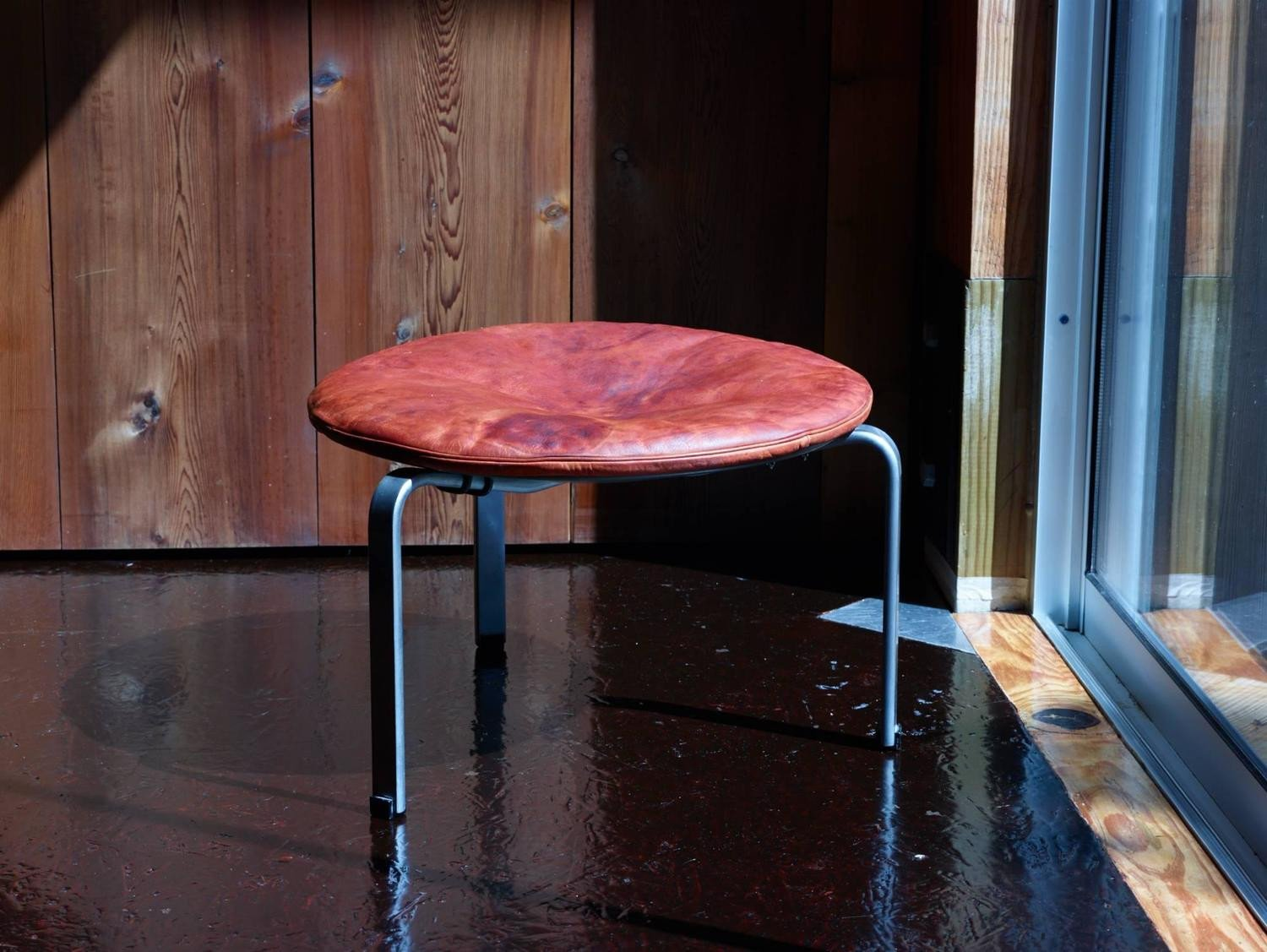 Poul Kjærholm PK 33 Stool for E. Kold Christensen in Original Condition circa 1959