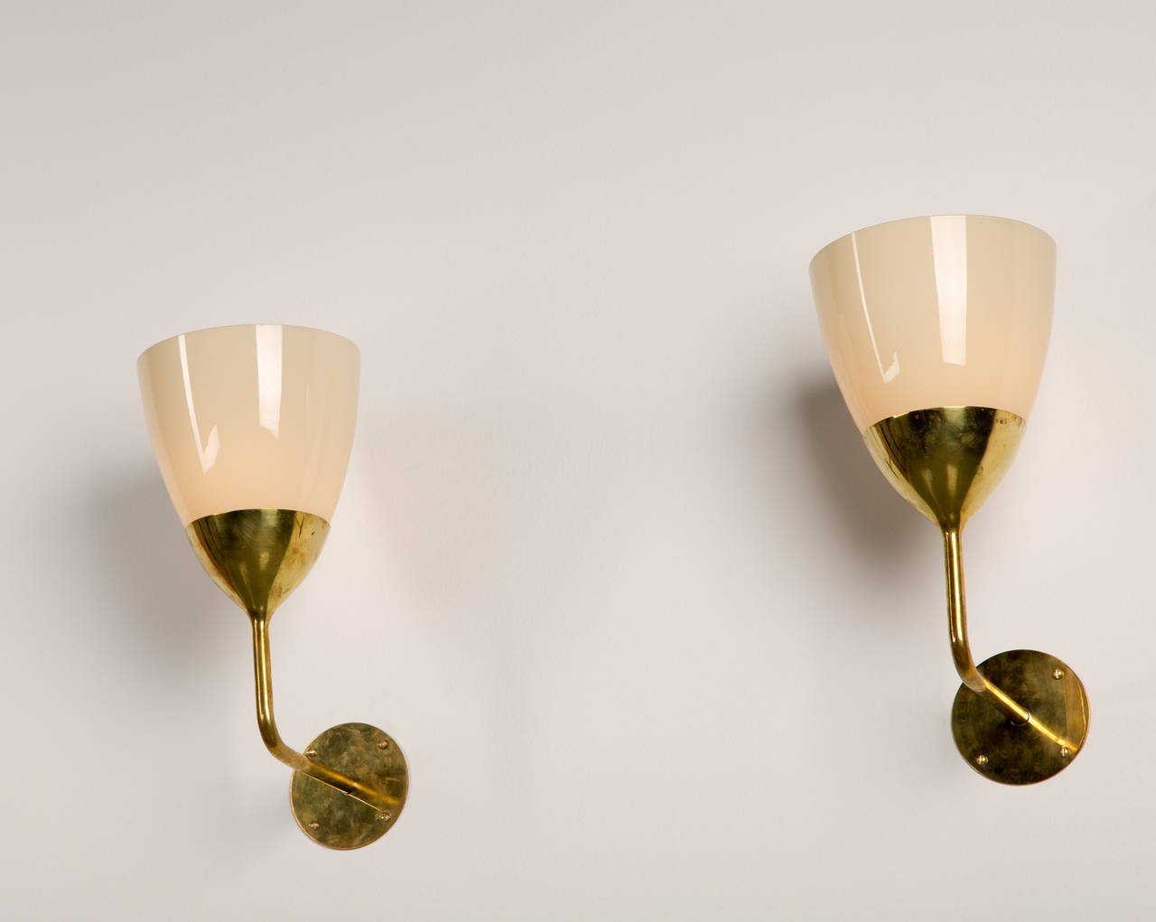 Paavo Tynell Kontiolahti Church Sconces 1950s