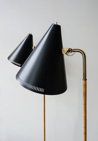 Paavo Tynell Floor Lamp, Model K10-10, 1940s - The Exchange Int