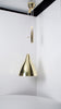 Lisa Johansson-Pape Counter Balance Brass Ceiling Lamp, Model 1314, 1940s - The Exchange Int