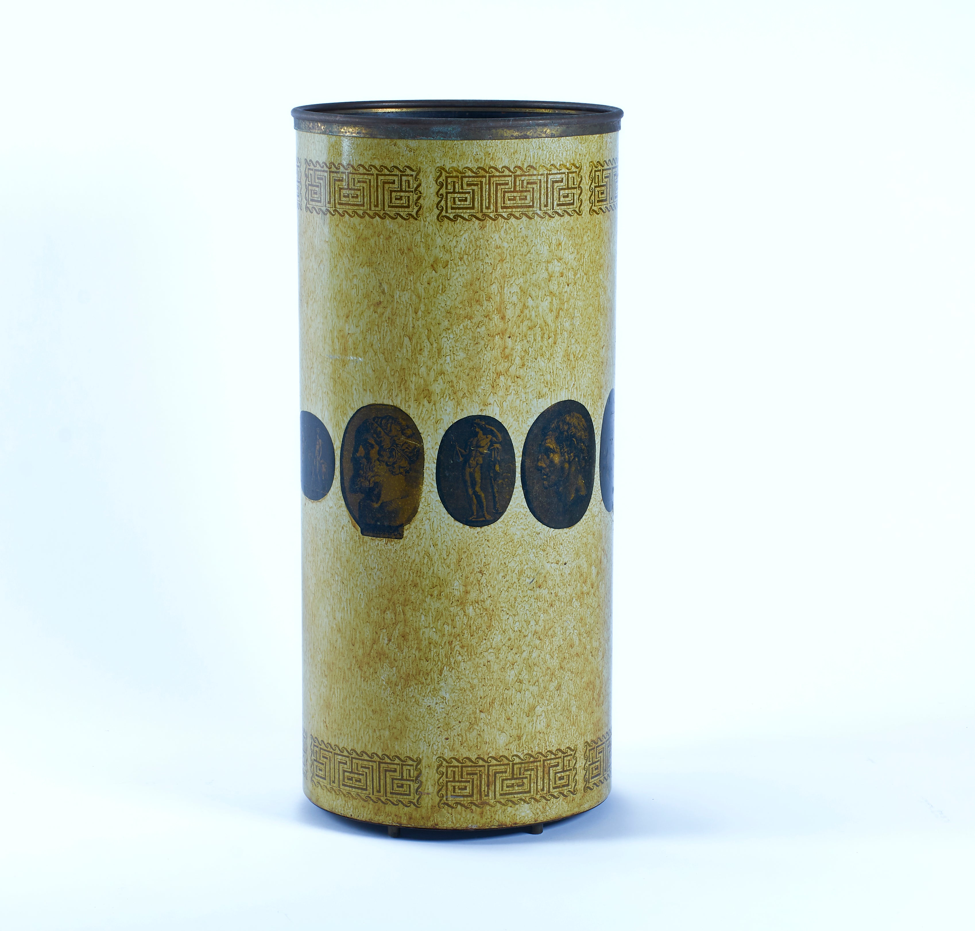 Piero Fornasetti Early Example Umbrella Stand circa 1950's