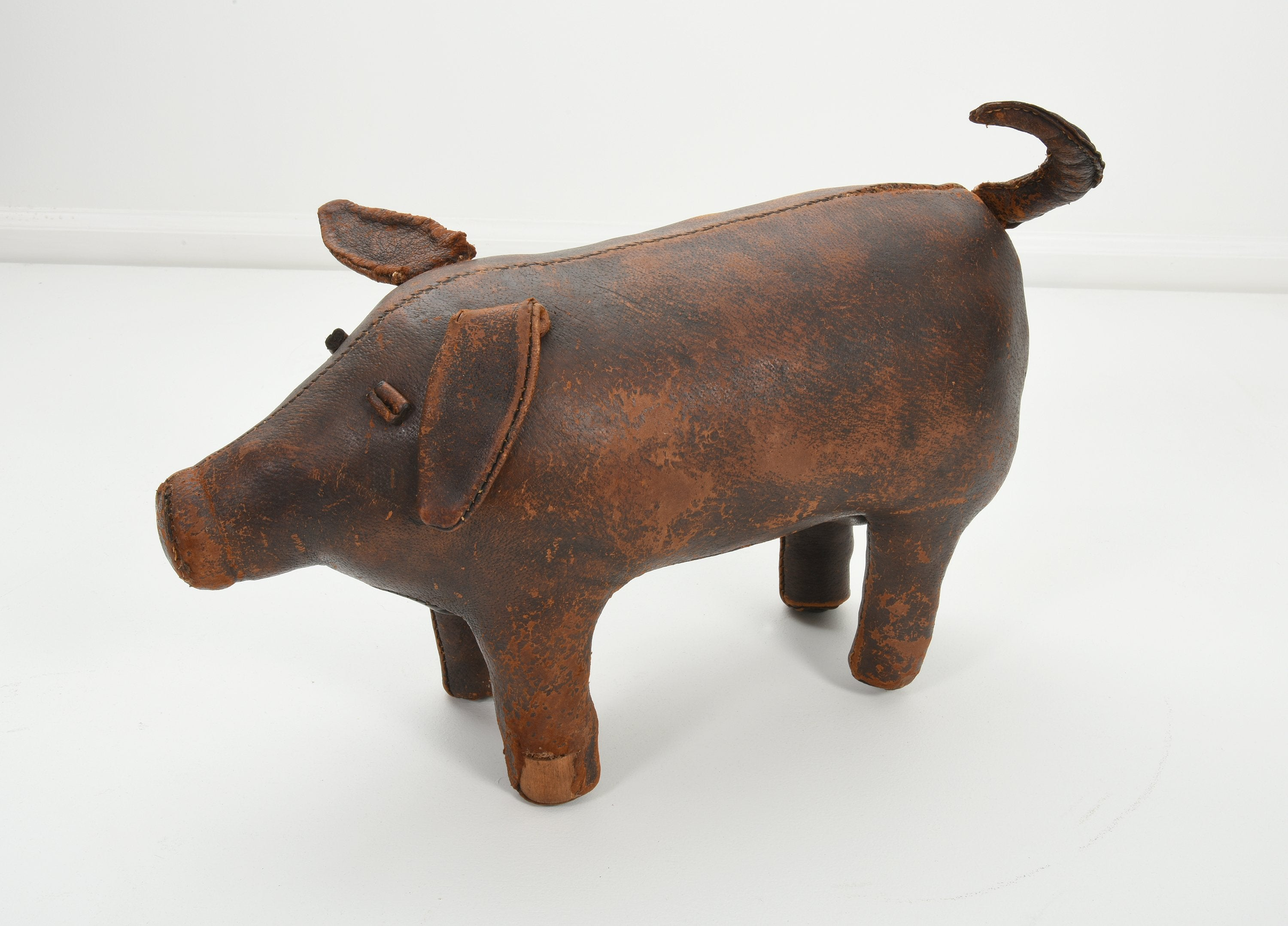 Pig Ottoman by Dimitri Omersa for Abercrombie and Fitch circa 1960s