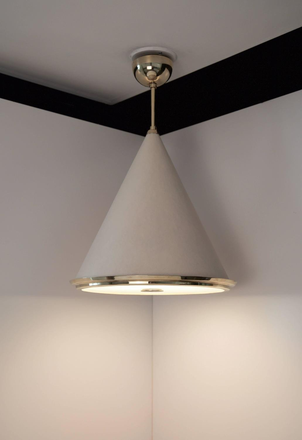 Paavo Tynell, Rare Set of Four Ceiling Lights, Taito Oy