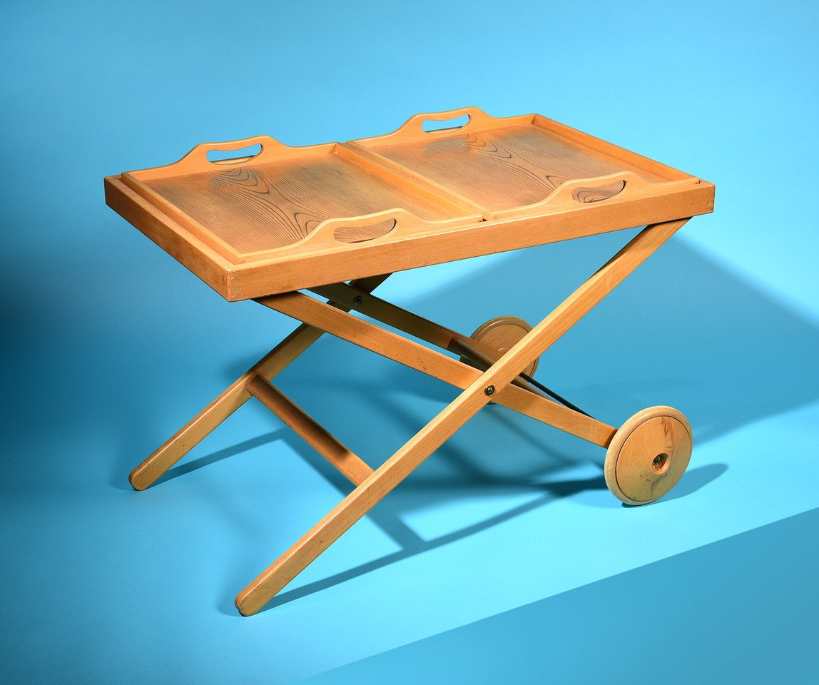 Tea Trolley by Tapio Wirkkala and Aulis Leinonen Asko Oy 1950s