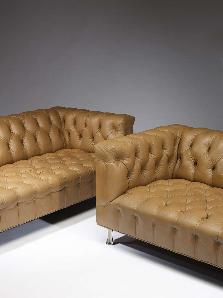 John Vesey Sofa, 1960s, Pair Available