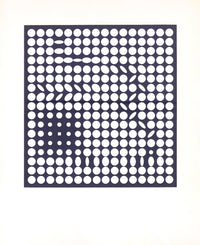 Victor Vasarely, Denise René Edition, Framed Screenprint, Signed and Numbered, 1970's