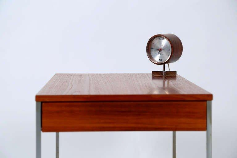 Arthur Umanoff Desk Clock, George Nelson & Associates, 1950s