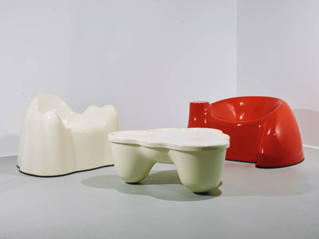 Wendell Castle Molar Group Armchair 1969