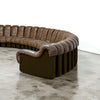 De Sede 'Non-Stop' Sofa, 43 Sections in Original Leather, Model DS-600, 1970s - The Exchange Int