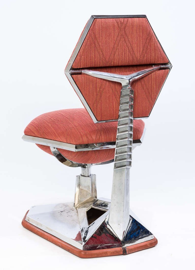 Frank Lloyd Wright Chair from Price Tower circa 1956