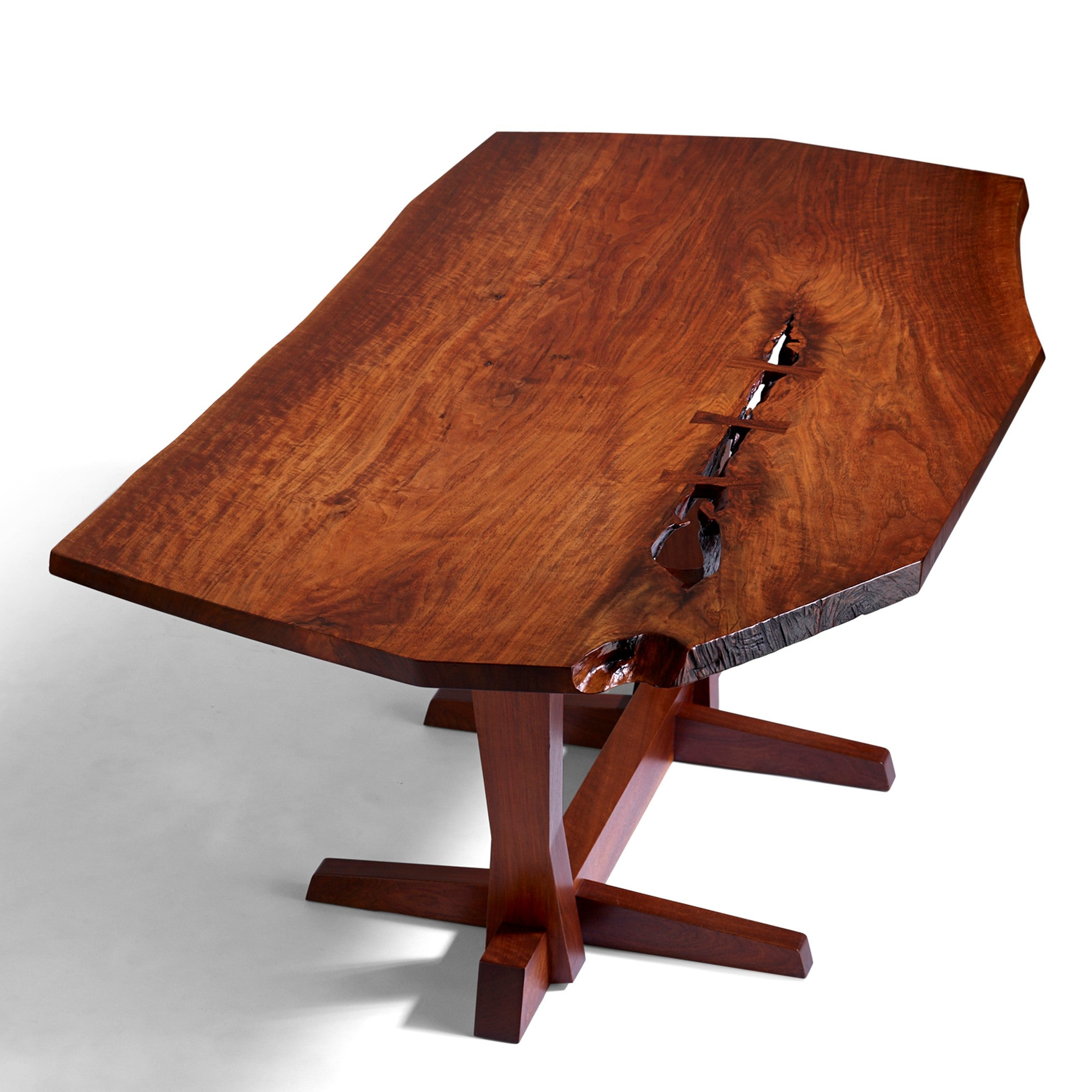 George Nakashima Conoid Single Board Dining Table