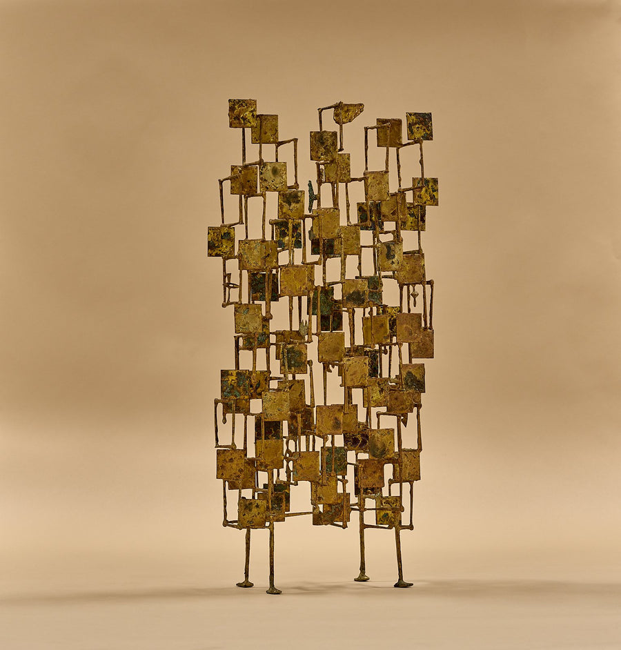"Early Harry Bertoia ""Multi-Plane"" Sculpture, circa 1950's"