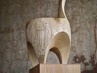 Caleb Woodard Hand Carved Chair - The Exchange Int