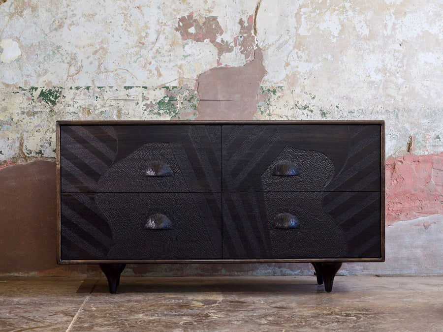 "Caleb Woodard ""ARABESQUE"" Chest of Drawers"